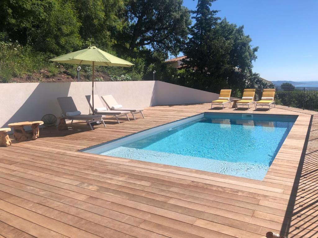 Villa Provençale Contemporaine Vue Mer