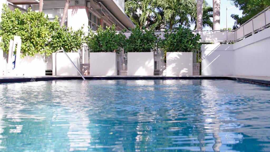 The swimming pool at or near Crest Hotel Suites