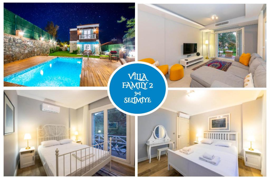 Villa Familia 2 Selimiye Daily Weekly Rentals