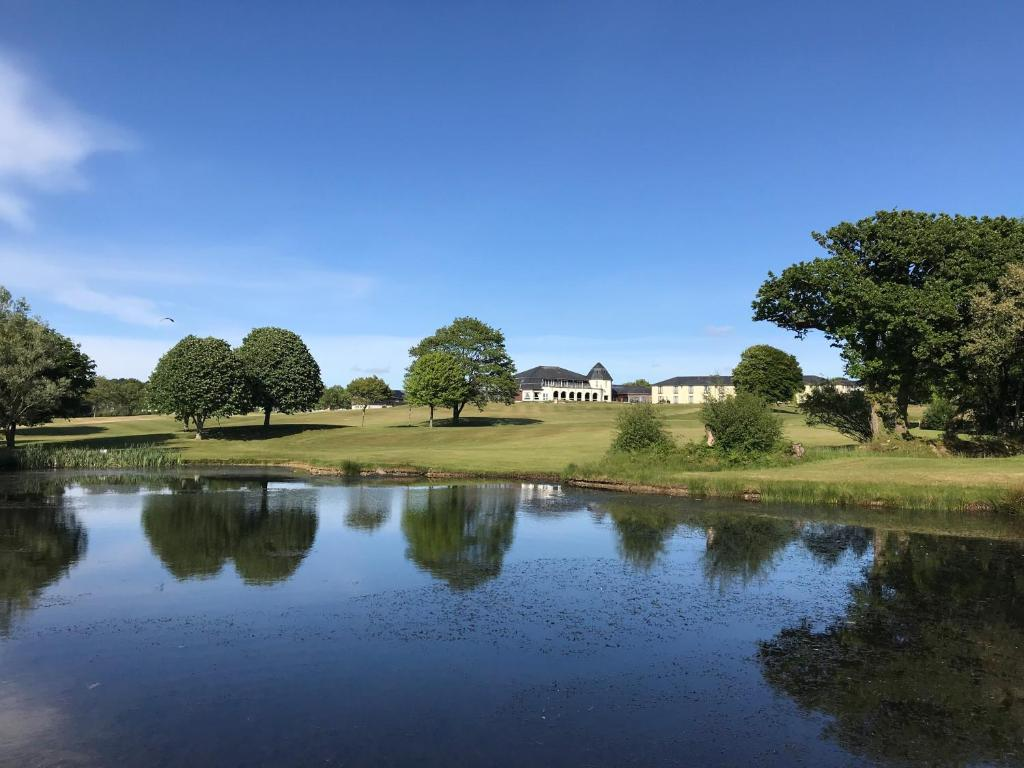The swimming pool at or near Lanhydrock Hotel & Golf Club