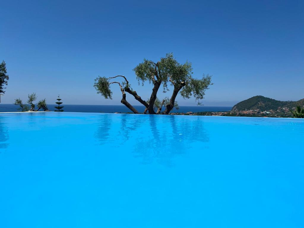 The swimming pool at or close to Residence Serrone