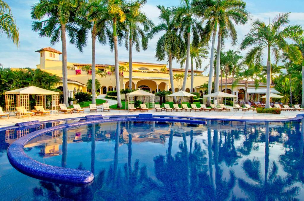 The swimming pool at or near Casa Velas – Adults only