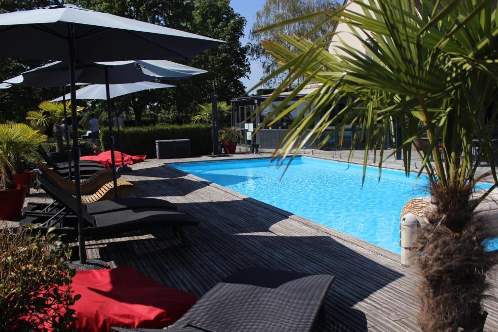 Les Terrasses de Saumur - Logis - Hotel Restaurant & Spa Saumur, France