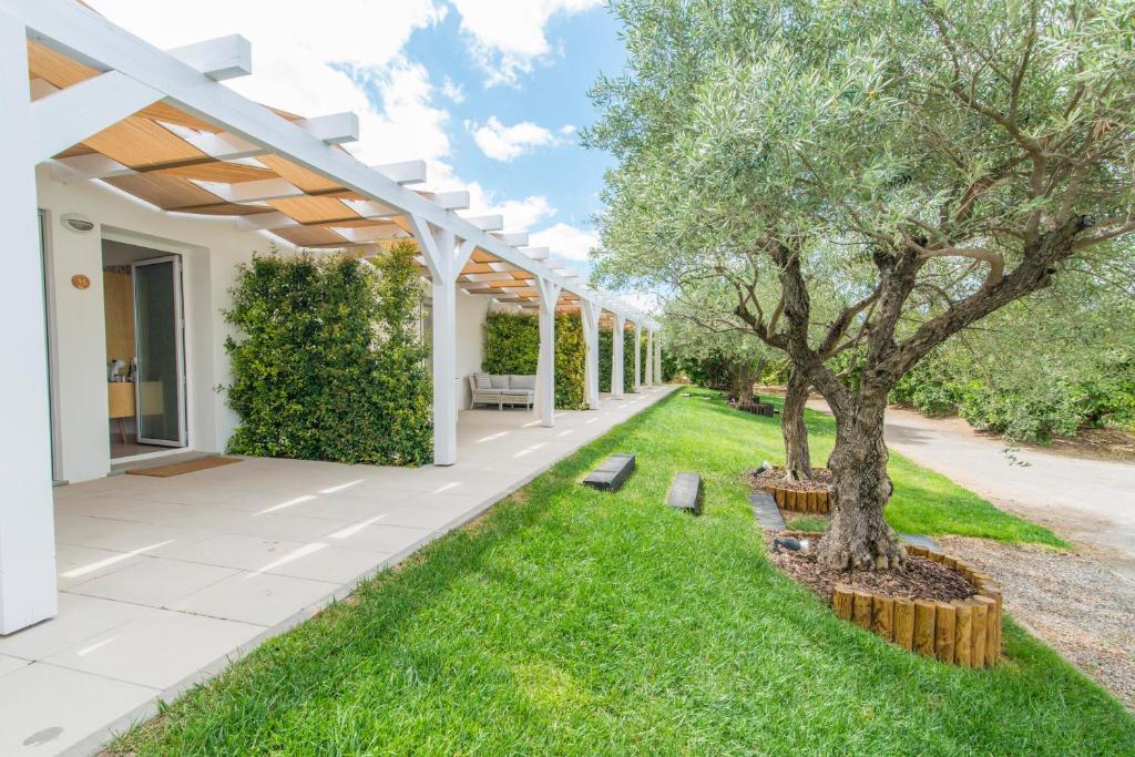 A garden outside Quinta Dos Perfumes