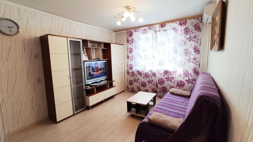 Гостиная зона в ABBA Apartments
