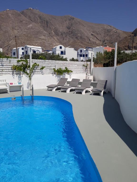 The swimming pool at or near Three Harites