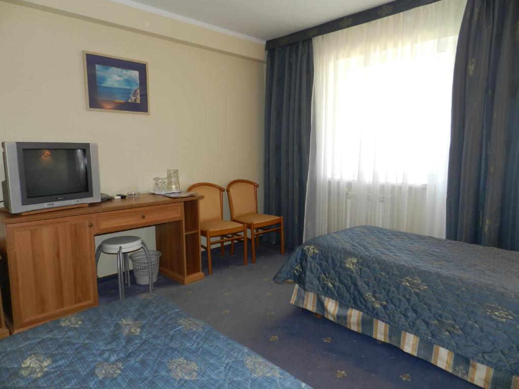 Телевизор и/или развлекательный центр в Пансионат Черное Море