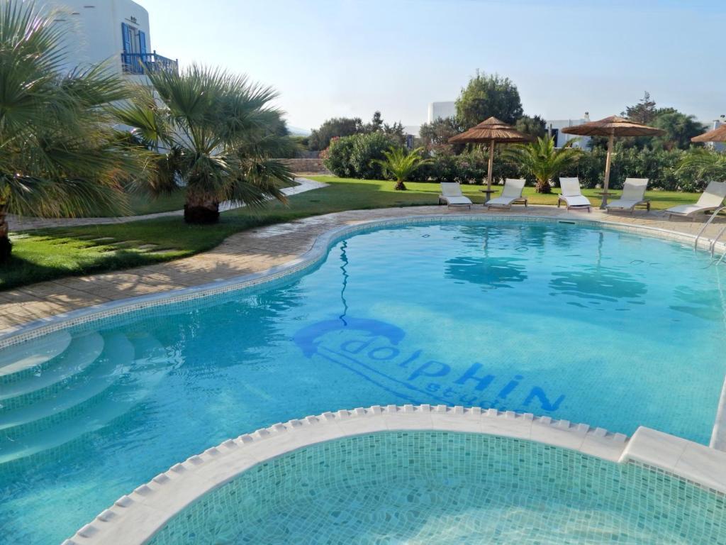 The swimming pool at or near Dolphin Kastraki Studios