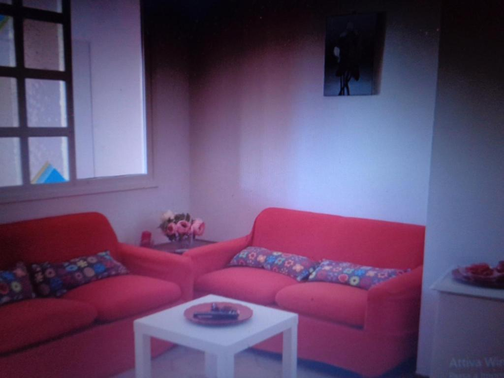 A seating area at Casa dei sogni