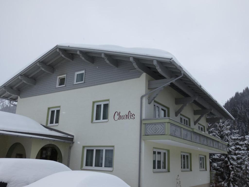 Pension Churlis during the winter