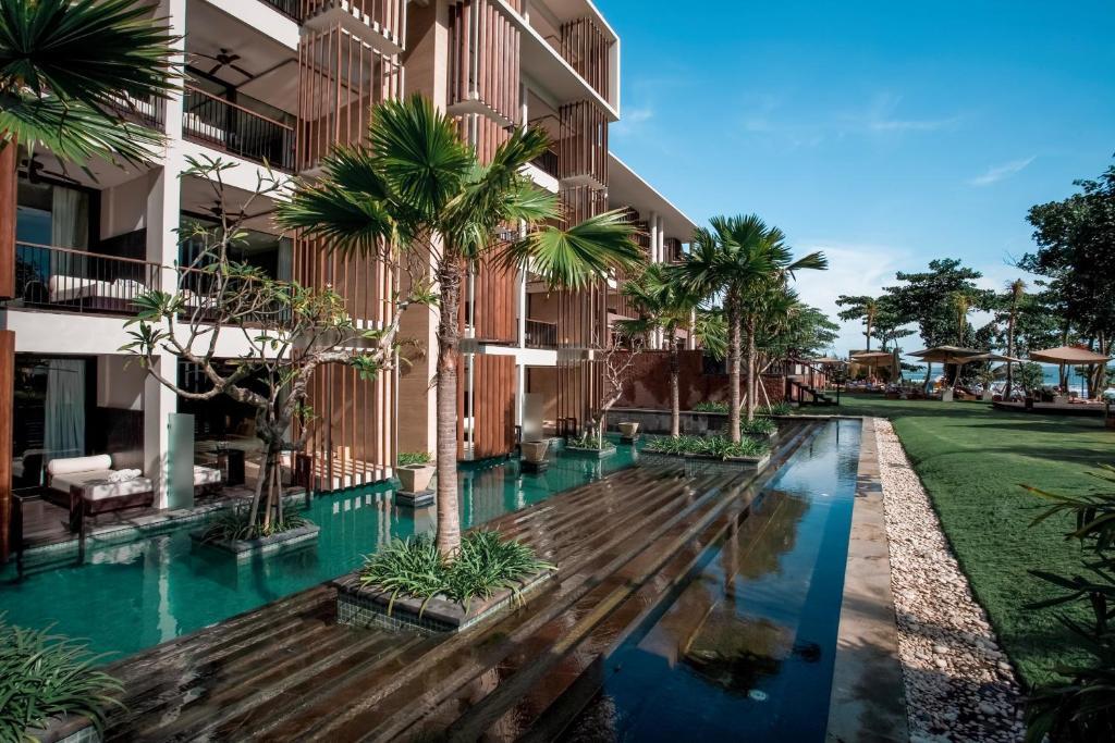 The swimming pool at or near Anantara Seminyak Bali Resort
