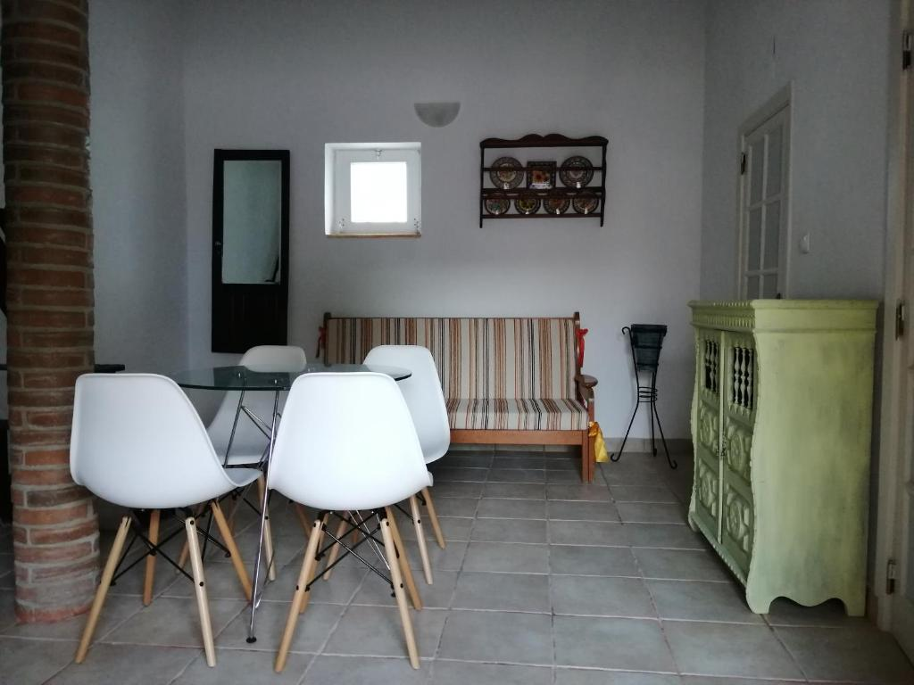 A seating area at Vitória House