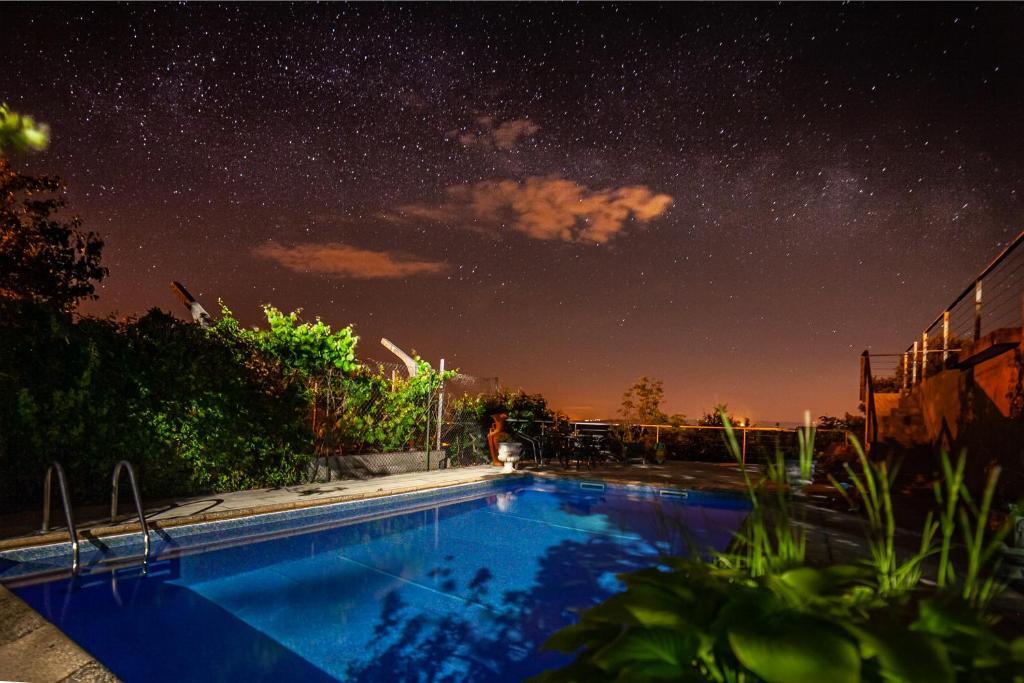 A piscina em ou perto de Casas da Fraga - Serra da Estrela