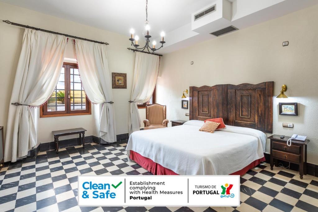 Cama o camas de una habitación en Hotel Sao Joao De Deus
