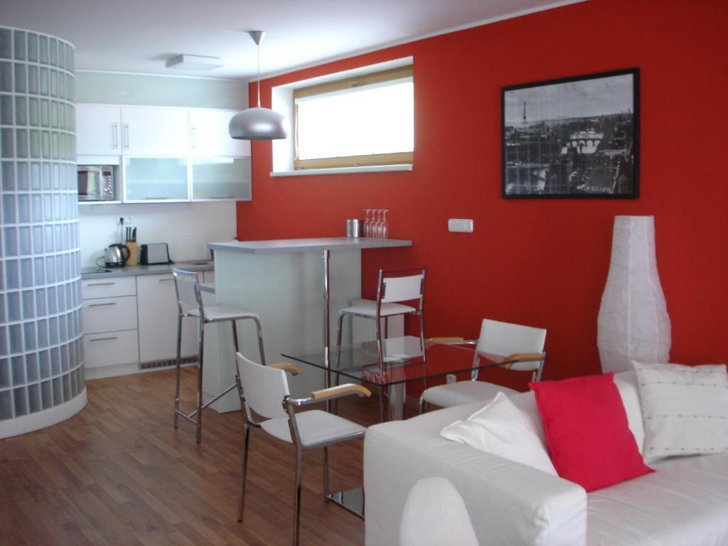 Posezení v ubytování Apartmán Anežka