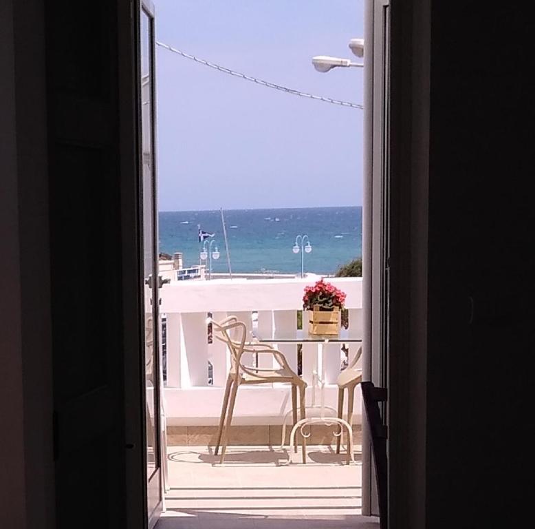 A balcony or terrace at Casetta Mare
