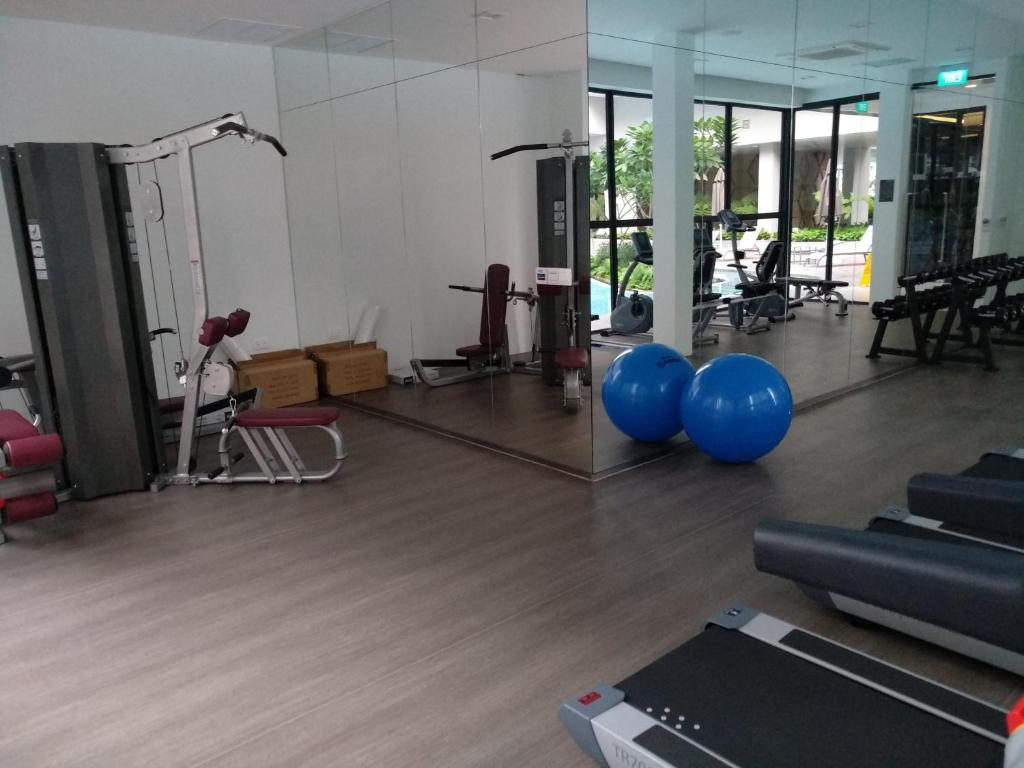 The fitness center and/or fitness facilities at Potong Pasir Residences