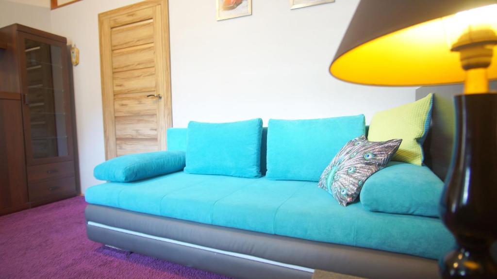 Część wypoczynkowa w obiekcie Apartamenty Patria