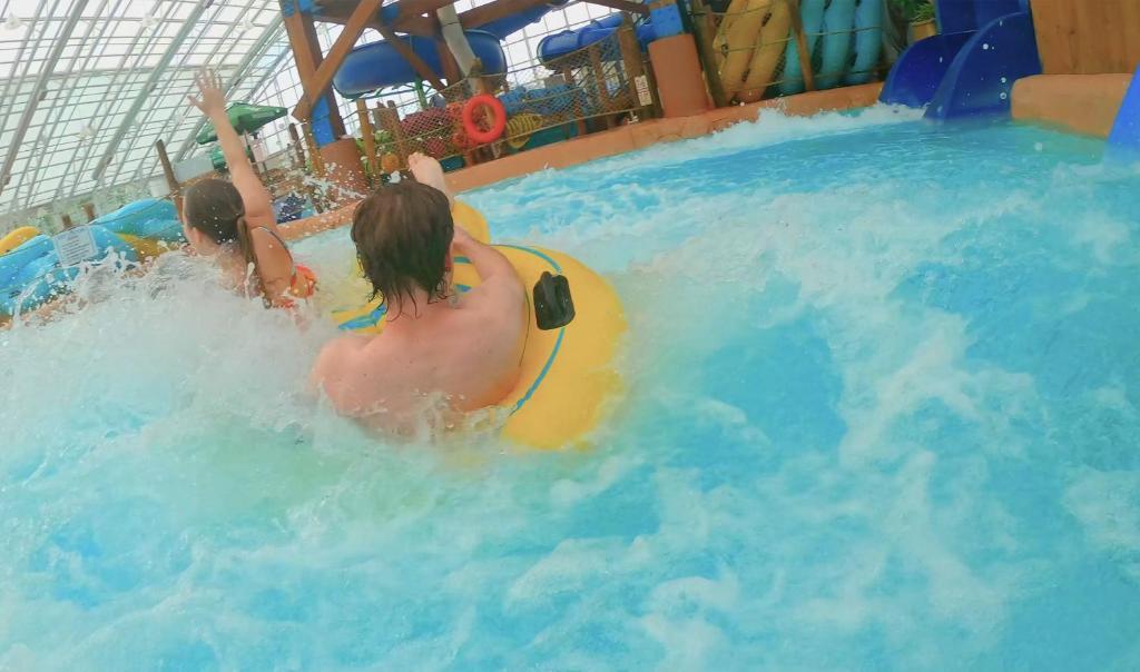 The swimming pool at or near Americana Waterpark Resort & Spa