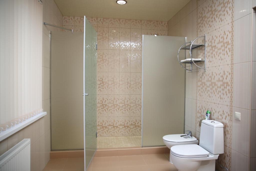 Ванная комната в Гостевой Дом Атриум