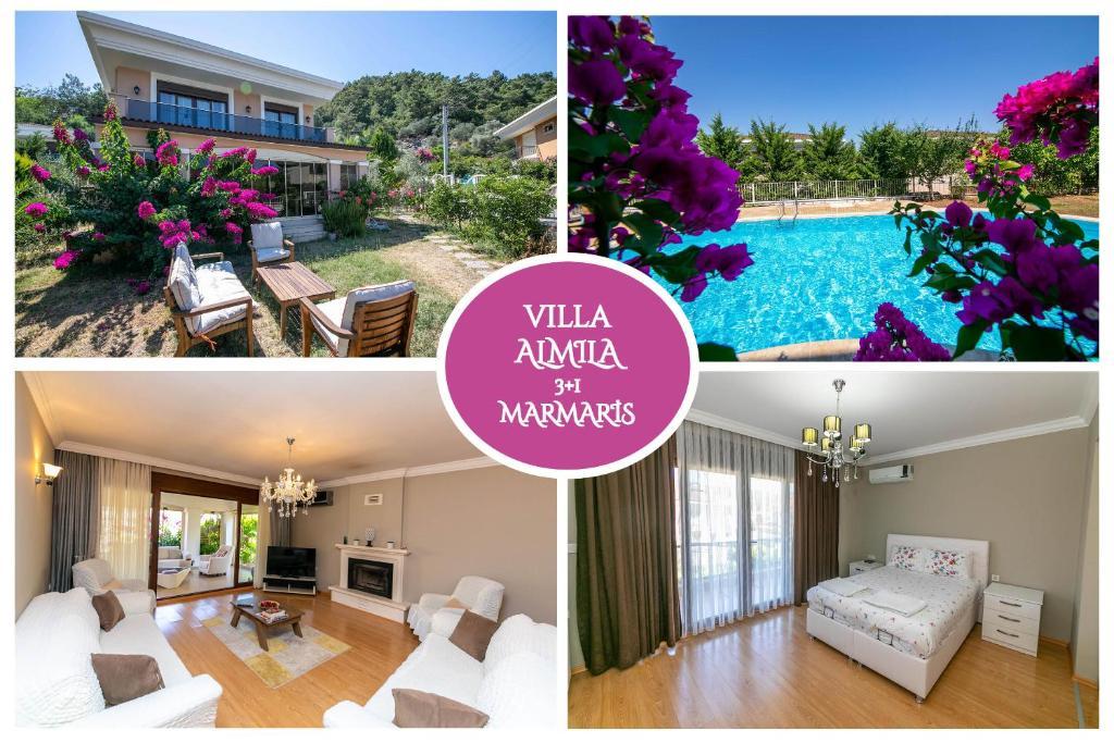 Villa Cevher Marmaris Daily Weekly Rentals