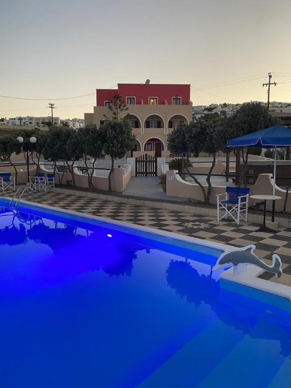 The swimming pool at or near Romantic Spa Resort
