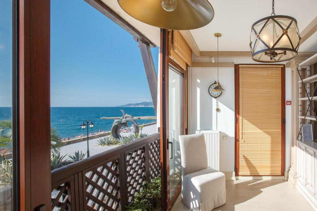 Балкон или терраса в Апартаменты у моря