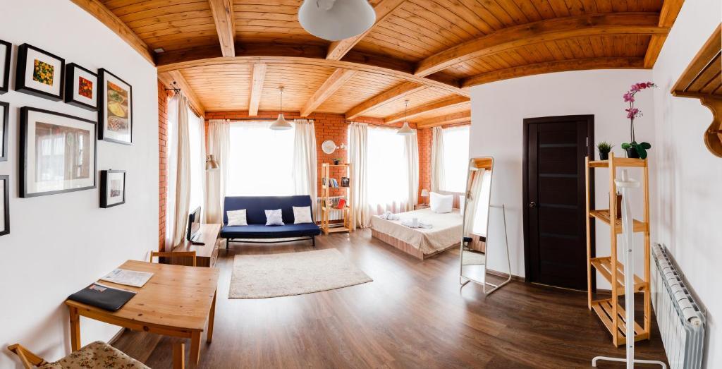Гостиная зона в Hotel Shokolad