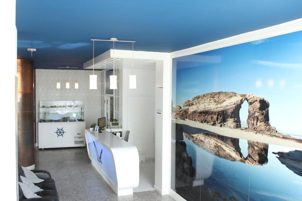 A bathroom at Hotel Voar