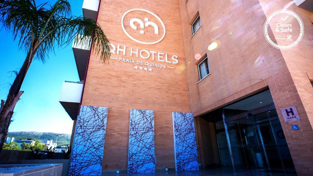 O logótipo ou símbolo do hotel