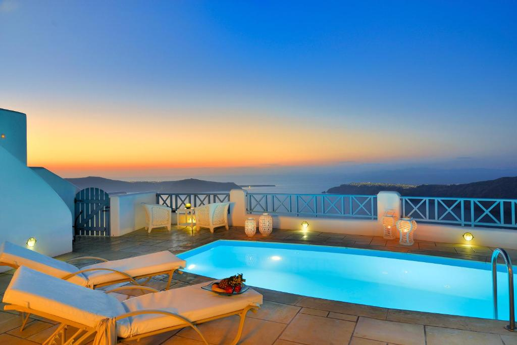 The swimming pool at or near Absolute Bliss