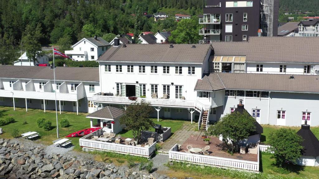 Fosen Fjord Hotel sett ovenfra