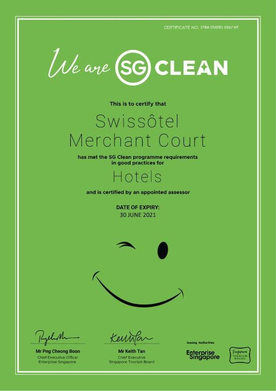 Swissotel Merchant Court - Laterooms