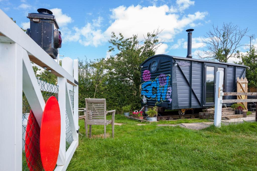 Skipbridge Farm Shepherds Huts - Laterooms