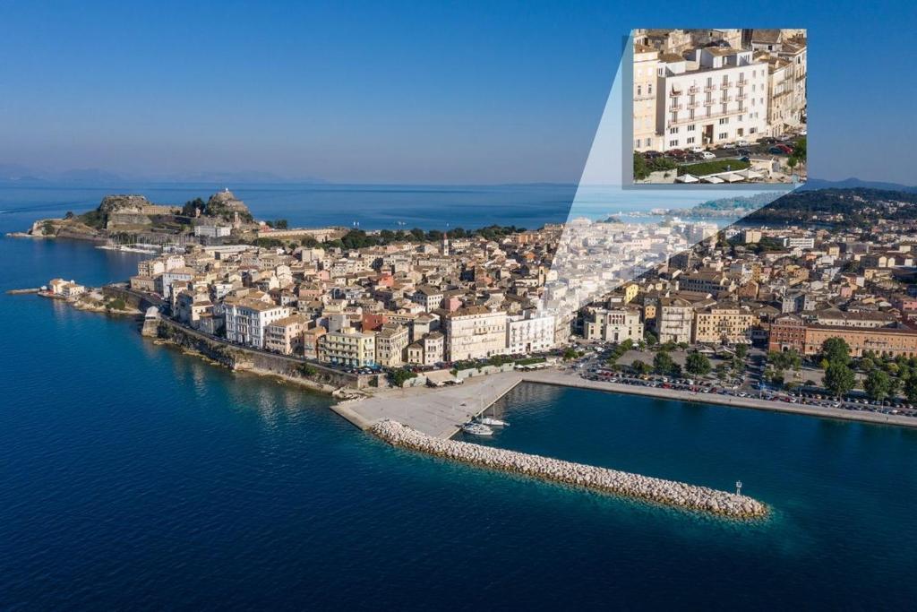A bird's-eye view of City Marina