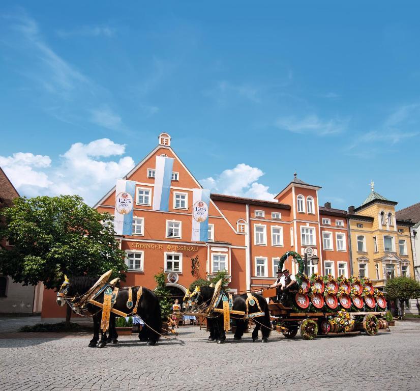 Hotel zum Erdinger Weissbrau Erding, Germany