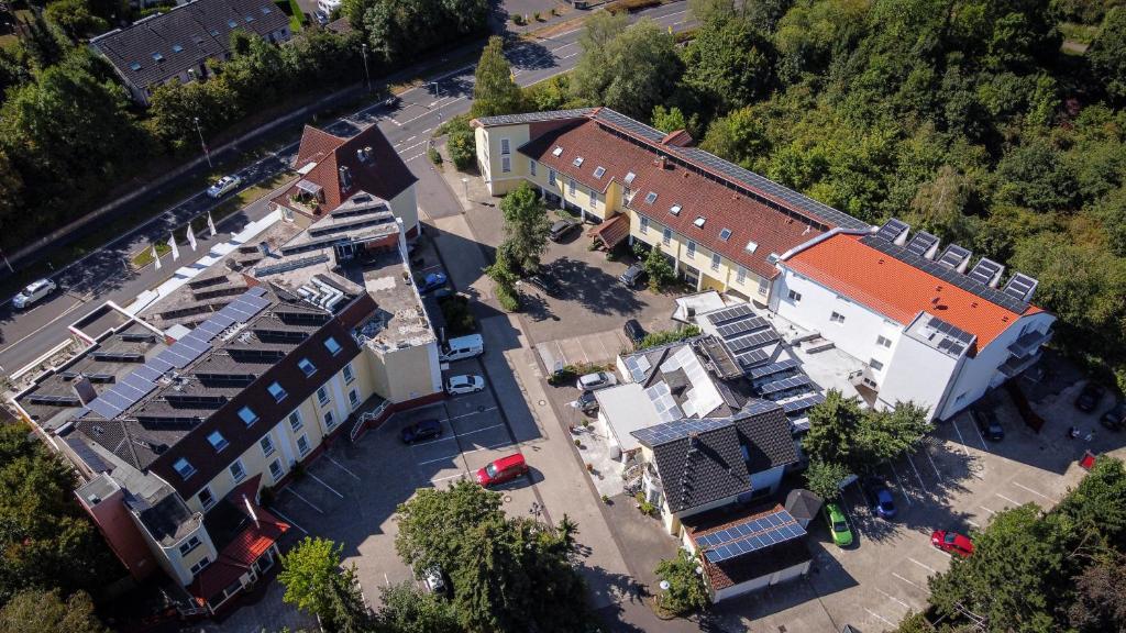 City Hotel Meckenheim с высоты птичьего полета