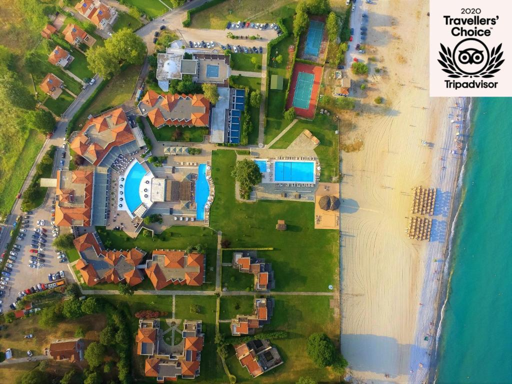 Άποψη από ψηλά του Dion Palace Resort and Spa