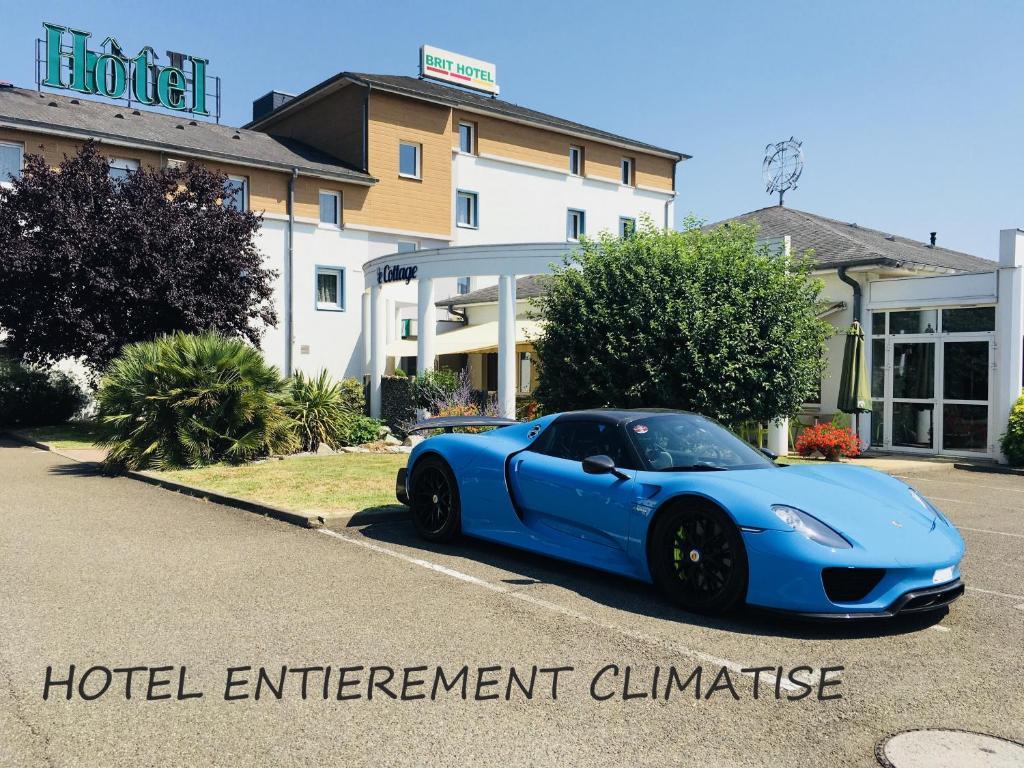 Brit Hotel Le Cottage Le Mans Sud Arnage, France