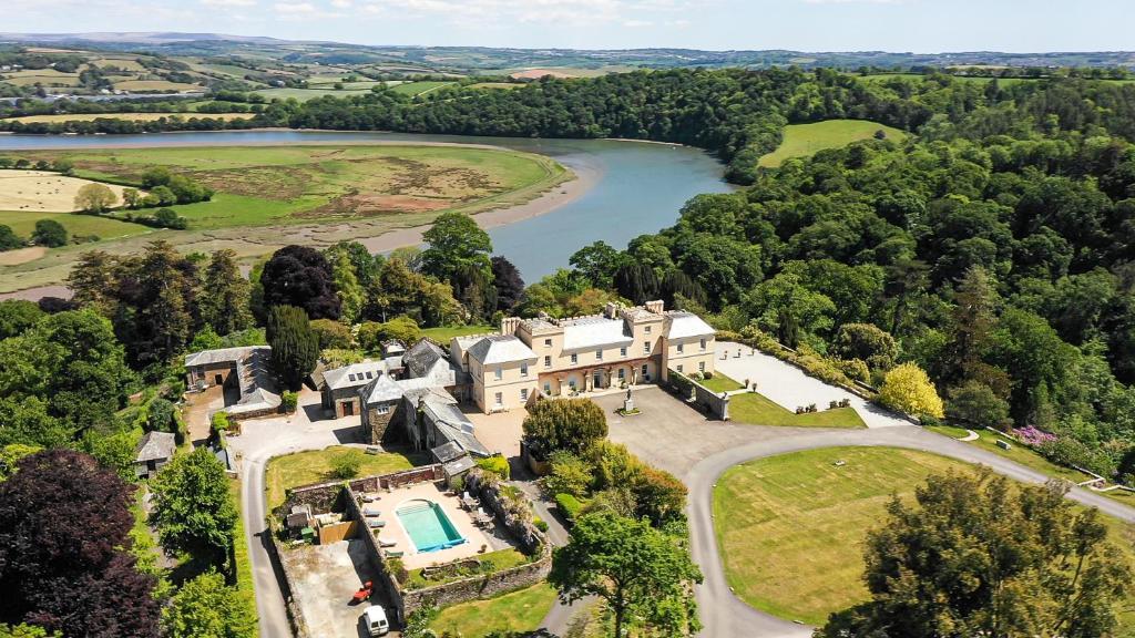 Pentillie Castle and Estate in Saltash, Cornwall, England