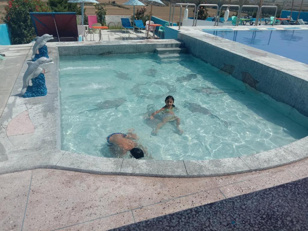 The swimming pool at or close to Maliana Star