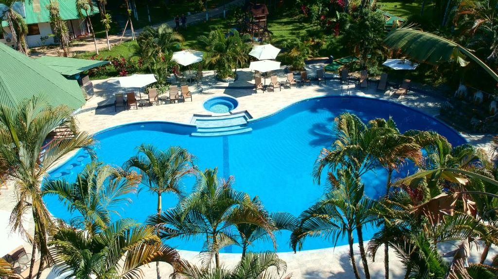 A view of the pool at Hotel Villas Rio Mar or nearby