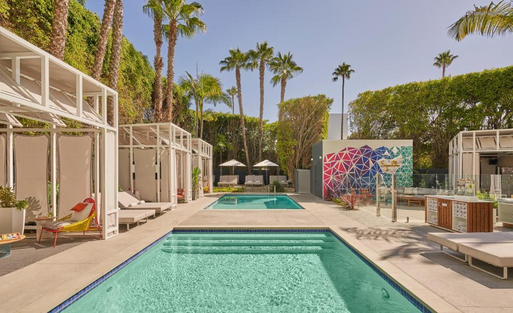 The swimming pool at or near Viceroy Santa Monica