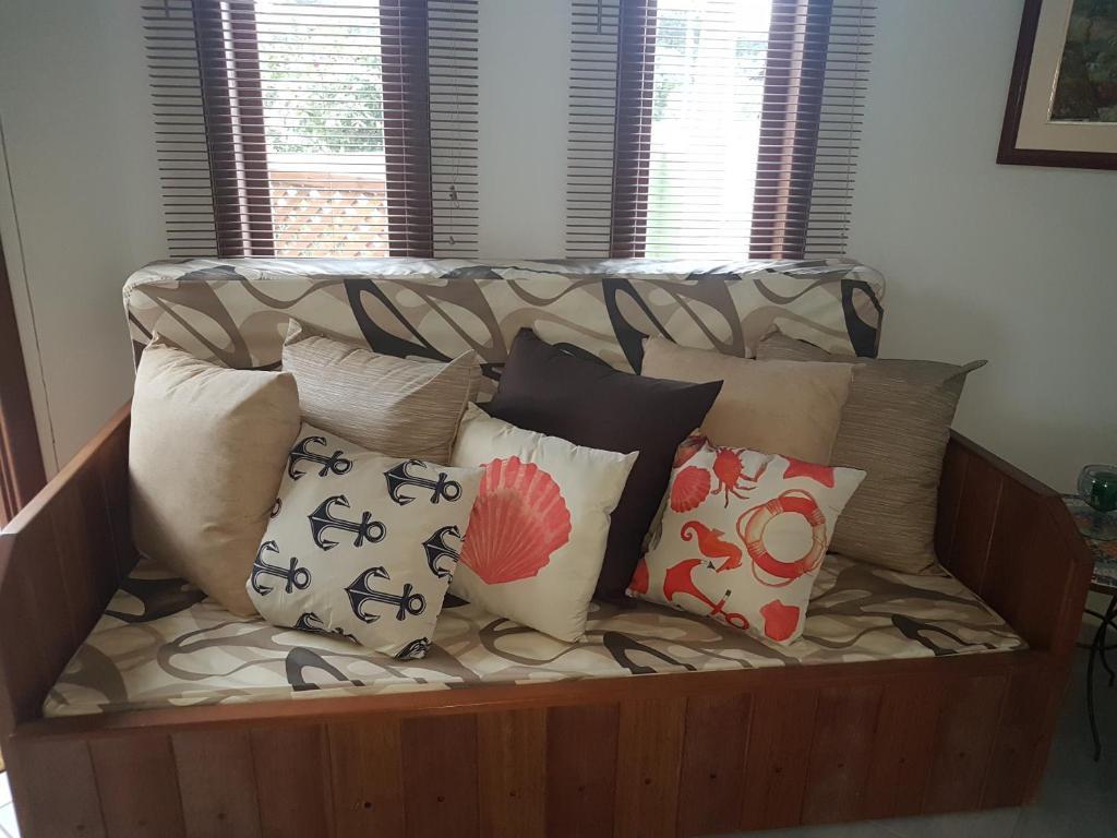 A seating area at Vila Figueiredo das Donas
