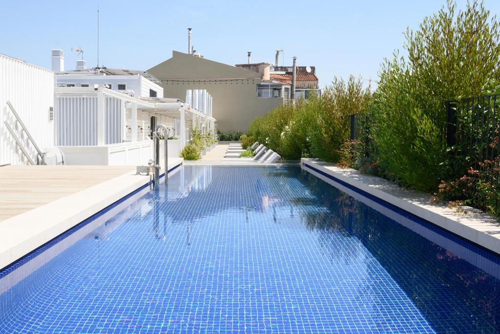 The swimming pool at or near Seventy Barcelona