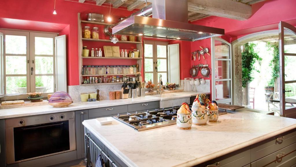Cucina o angolo cottura di Casa Fabbrini Agriturismo