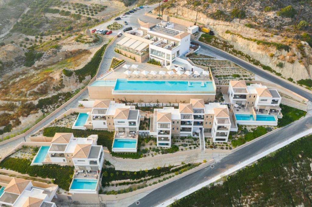 A bird's-eye view of White Rock of Kos Hotel - Adults only