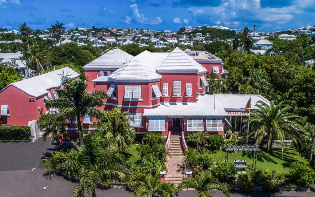 Royal Palms Hotel с высоты птичьего полета