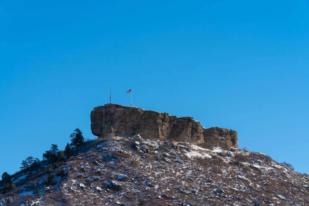 La Quinta by Wyndham Castle Rock during the winter