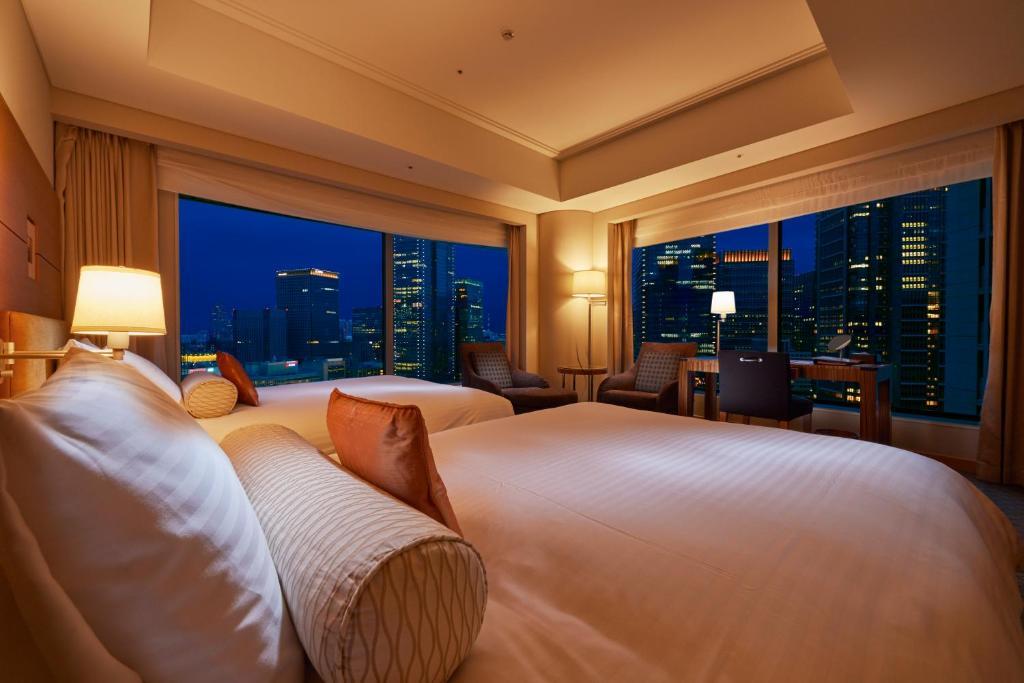 A room at the Marunouchi Hotel.